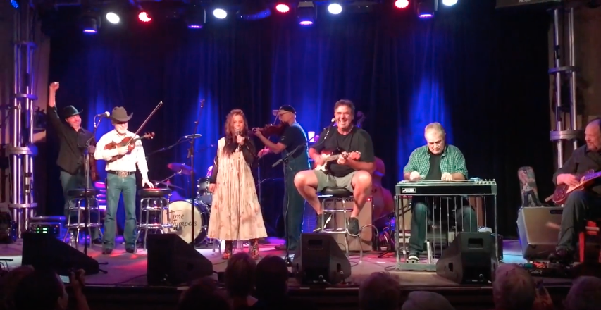 Emi Steps Up to the Mic and Back in Time with The Time Jumpers