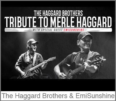 EmiSunshine Returns to Branson with The Haggard Brothers Aug 23 & 24