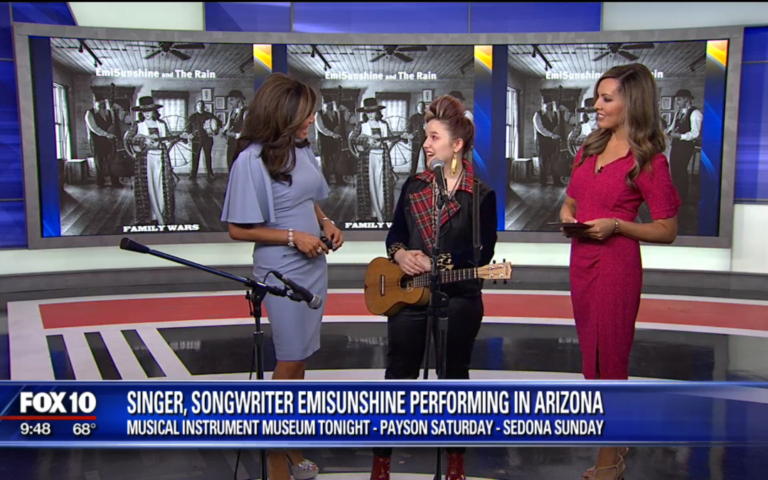 "EmiSunshine Debuts ""Same Boat"" on Fox 10 Arizona Morning During Her Southwest Tour"
