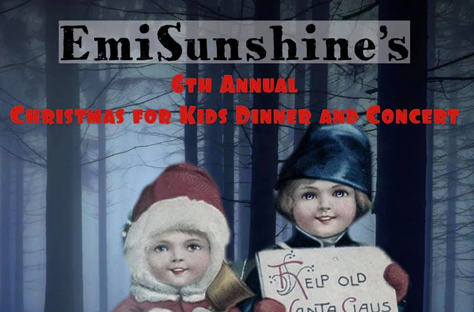 Get Into the Christmas Spirit with EmiSunshine, Dec. 21 and 23, in Madisonville, Tennessee
