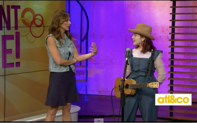 Rising country star EmiSunshine performs on A&C